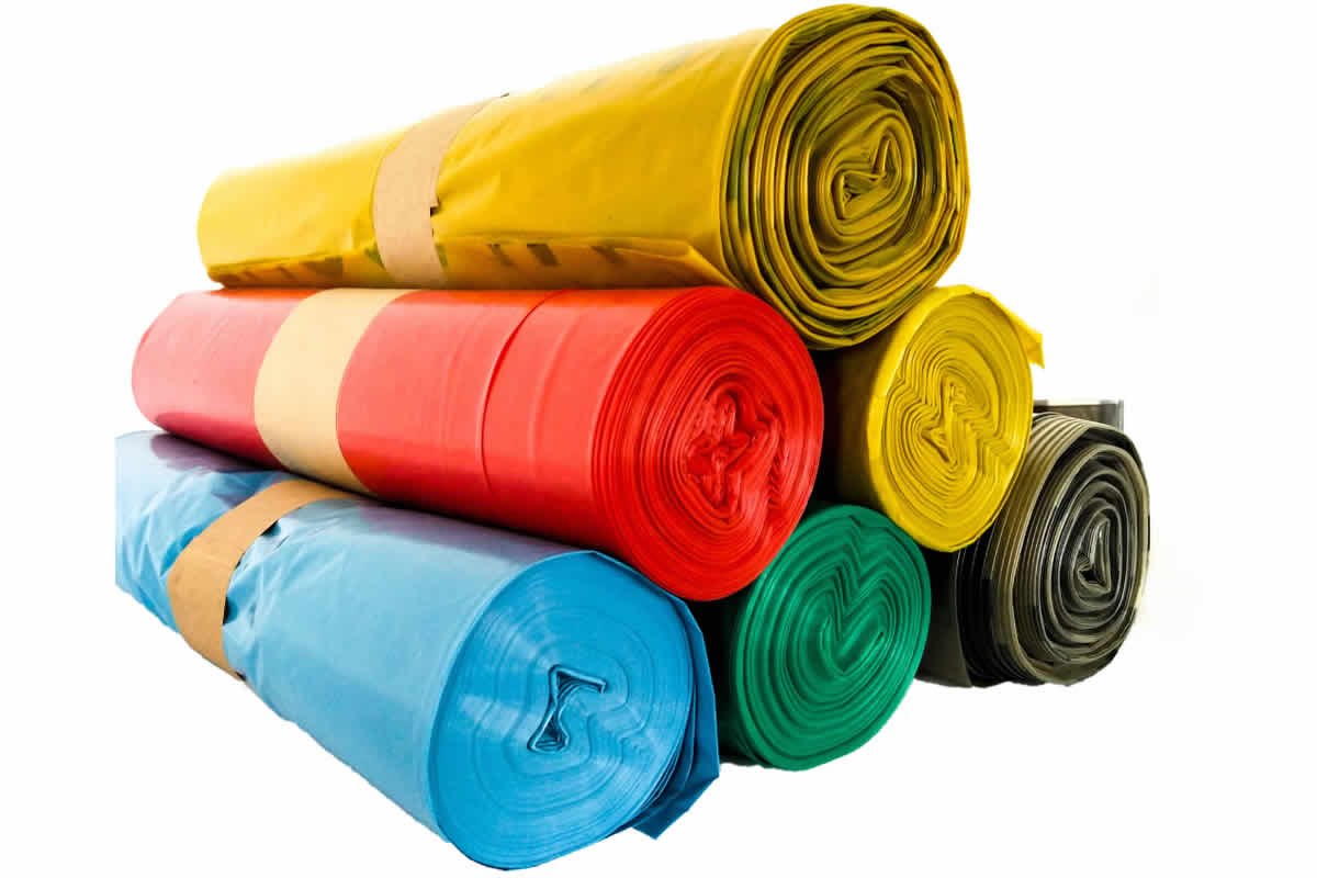 WBV worldwide – Bin-liners in all sizes and colours