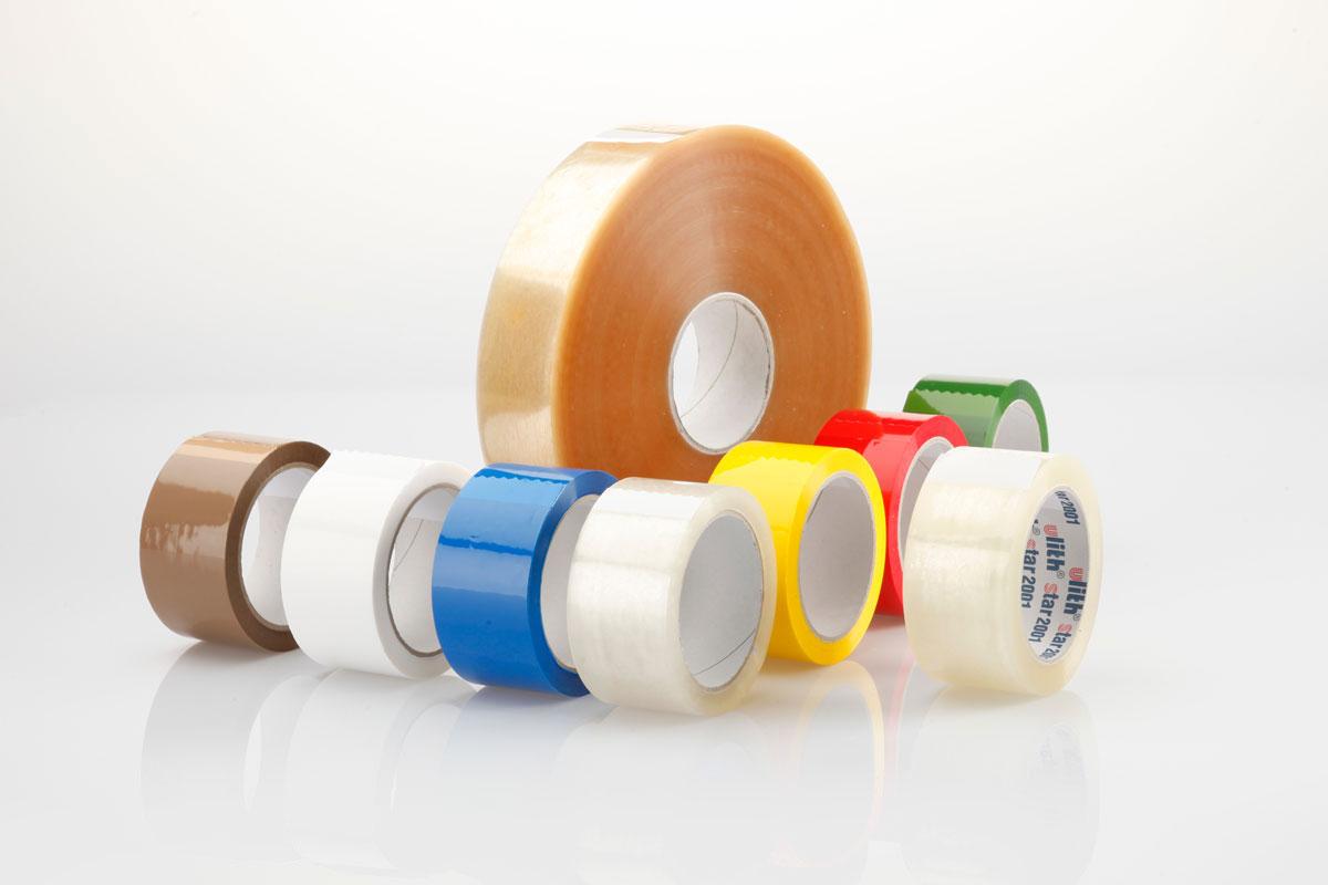 Packbänder / Packfilm für jeden Karton / Einsatzzweck