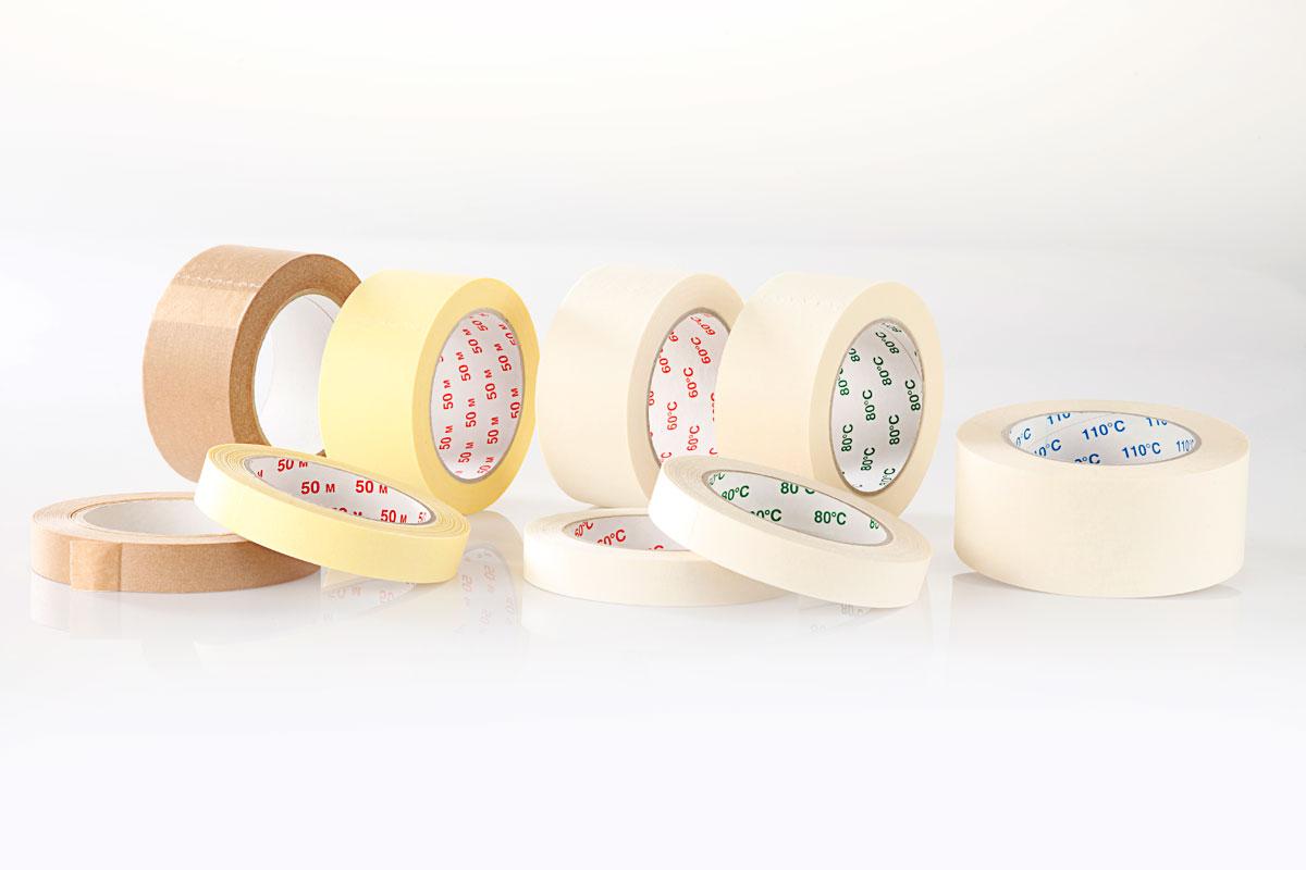 Papier-Abdeckbänder für Maler und Lackierer / Weich-PVC-Abdeckband (Putzerband)