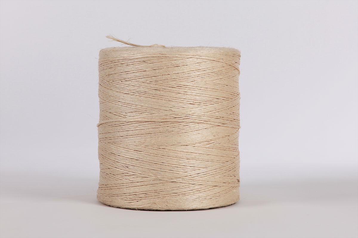 Garne zur Seilherstellung: Aus Sisal und Polypropylen