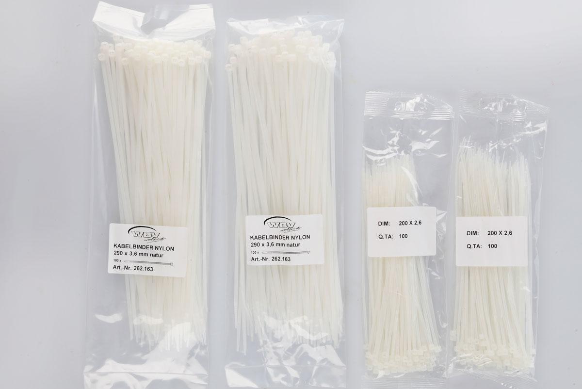 Kabelbinder Nylon - WBV worldwide