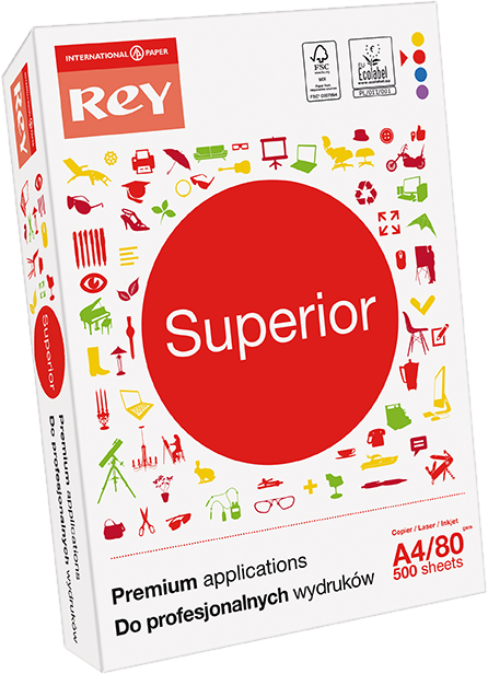 Premium-Kopierpapier Rey Superior