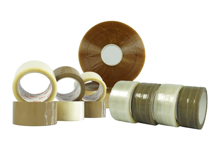 PP packaging tape, hot-melt