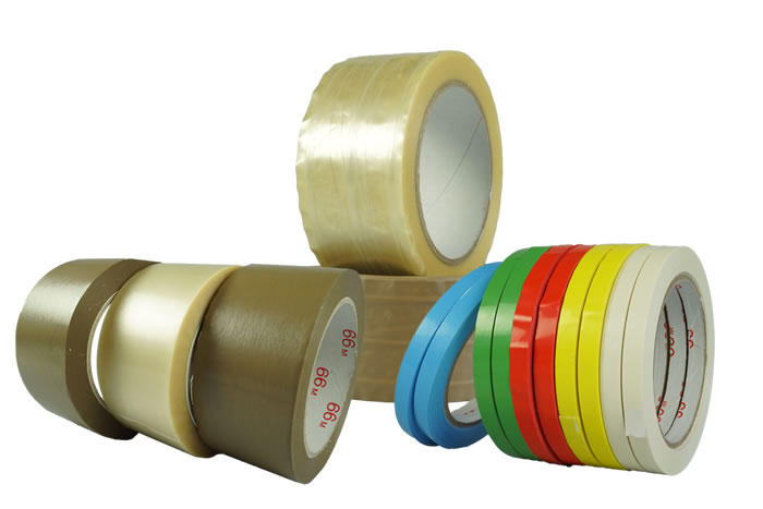 PVC packaging tapes