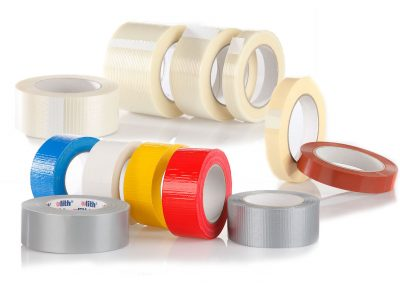 Gewebeband, Filamentband, Strapping