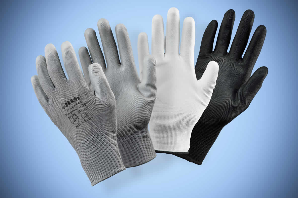 The whole range of work gloves