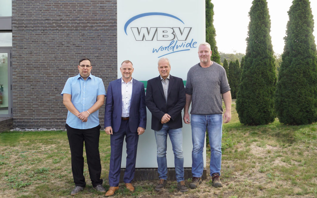 WBV ehrt Dienstjubilare