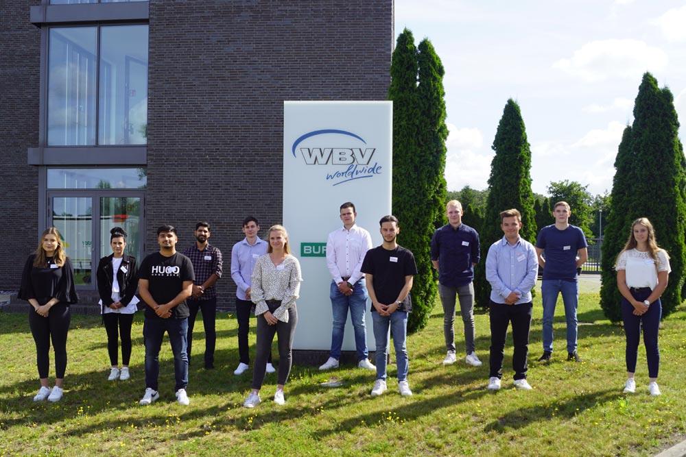 WBV heißt 12 Auszubildende willkommen