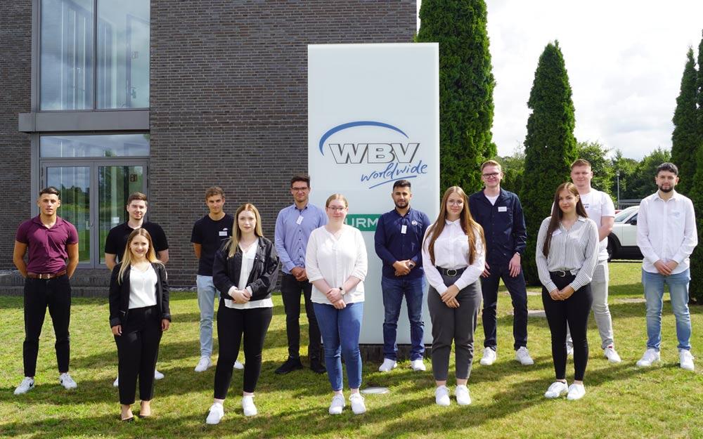 13 neue Auszubildende bei WBV